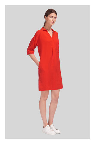 Lea Pocket Dress, in Red on Whistles