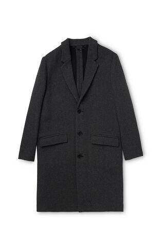 Deconstructed Overcoat, in Dark Grey on Whistles