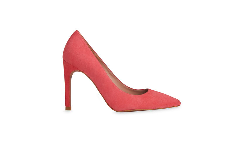 Cornel Suede Point Pump, in Pink on Whistles