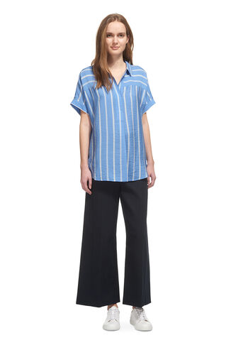 Ellen Stripe Casual Shirt, in Blue/Multi on Whistles