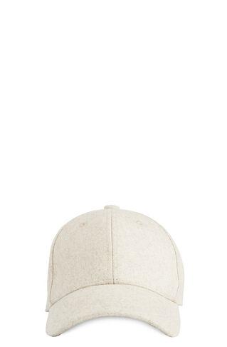 Baseball Cap, in Ivory on Whistles