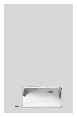 Mirror Metallic Long Purse, in Silver on Whistles
