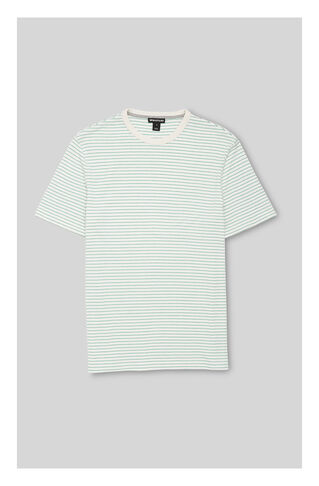 Simple Stripe T-Shirt, in Green/Multi on Whistles