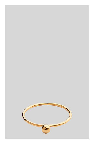 Delicate Sphere Ring, in Gold on Whistles