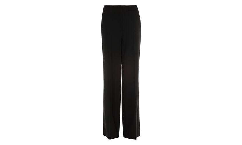 Milla Wide Leg Trouser, in Black on Whistles