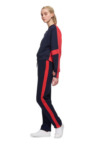Slim Jogger, in Navy on Whistles