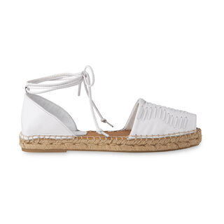 Syon Woven Espadrille, in White on Whistles