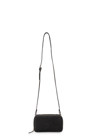 Clarence Rectangle Box Bag, in Black on Whistles