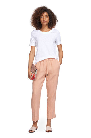 Easy Linen Trouser, in NUDE on Whistles