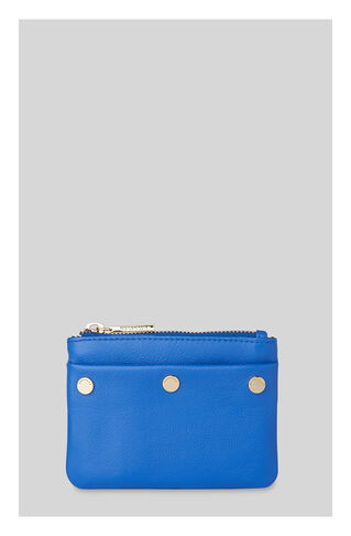 Triple Stud Coin Purse, in Blue on Whistles