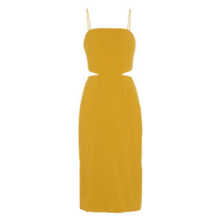 Limited Rossy Strap Dress, in Yellow on Whistles
