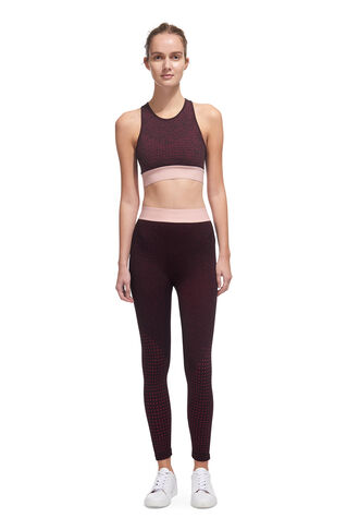 Panel Legging, in Burgundy on Whistles