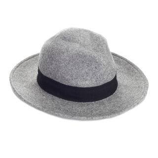 Felt Fedora Hat, in Grey on Whistles