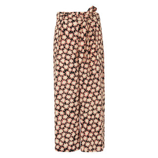 Star Print Tie Waist Trouser, in Multicolour on Whistles