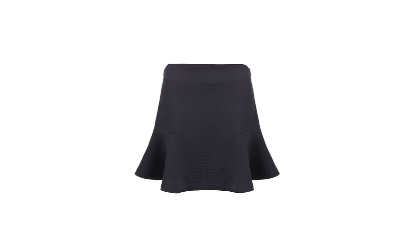 Beatrice Flippy Skirt, in Navy on Whistles