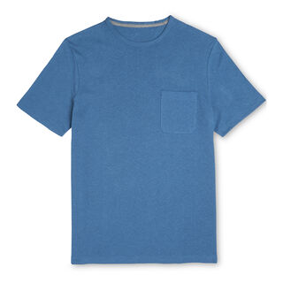 Crumple Everyday T-shirt, in Blue on Whistles