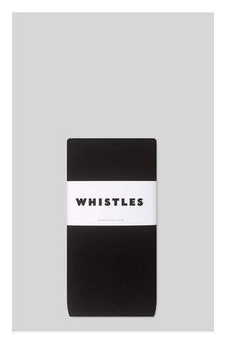 200 Denier Tights, in Black on Whistles