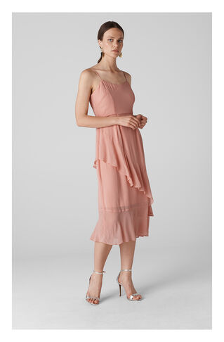 Amber Frill Dress, in Pale Pink on Whistles