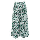 Thelma Daisy Cropped Trouser, in Green/Multi on Whistles
