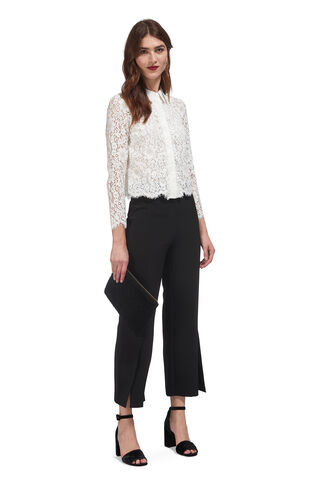 Suzie Lace Shirt, in Ivory on Whistles