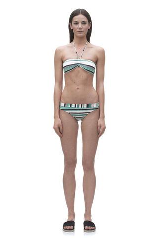 Hanalei Stripe Bikini Bottom, in Multicolour on Whistles