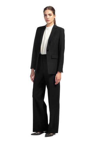 Milla Tailored Jacket, in Black on Whistles