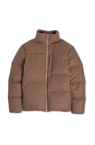 Puffer Jacket, in Taupe on Whistles