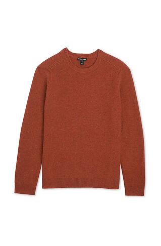 Crew Neck Sweater, in Orange on Whistles
