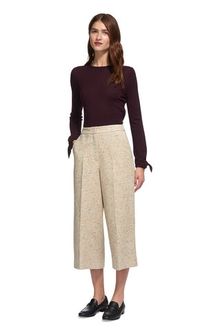 Honor Fleck Cropped Trouser, in Multicolour on Whistles