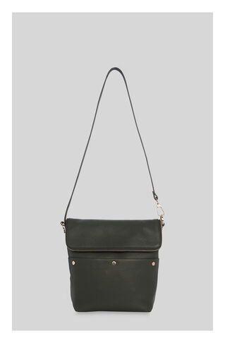 Cara Stud Slouchy Everyday Bag, in Khaki on Whistles