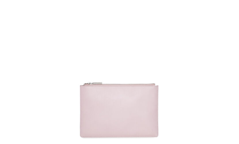 Rivington Chain Clutch, in Pale Pink on Whistles