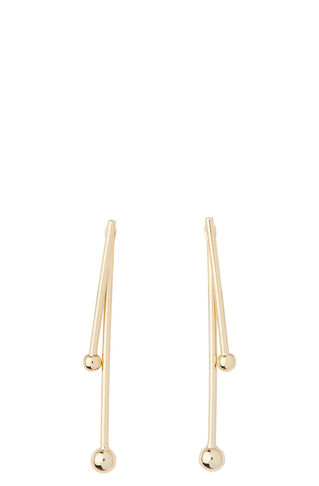 Double Post Sphere Earring, in Gold on Whistles