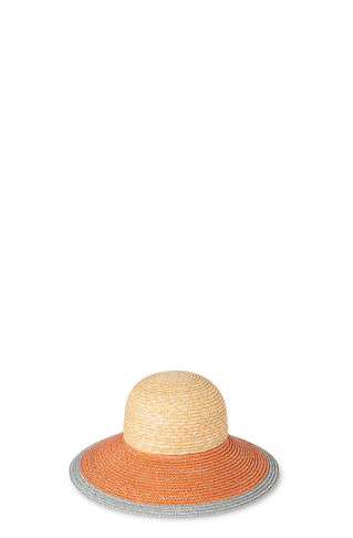 Colourblock Dome Summer Hat, in Multicolour on Whistles