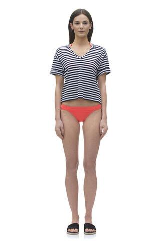 Solano Bikini Bottom, in Coral on Whistles