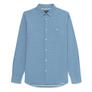 Woven Striped Shirt, in Pale Blue on Whistles