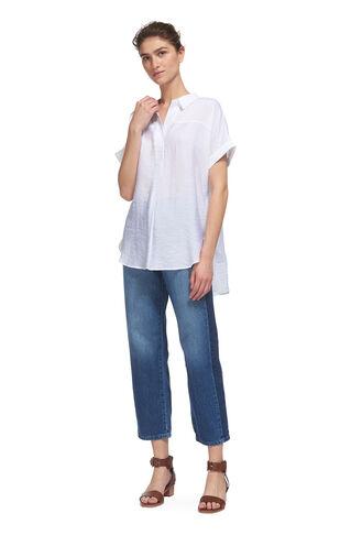 Ellen Casual Shirt, in White on Whistles