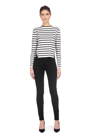 New Fit Black Skinny Jean, in Black on Whistles
