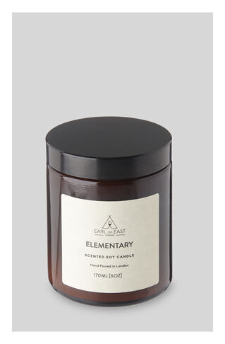 Earl Of East Elementary Candle, in Neutral on Whistles
