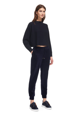 Velour Joggers, in Navy on Whistles