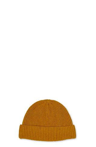 Donegal Cashmere Beanie, in Yellow/Multi on Whistles
