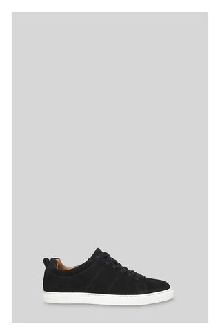 Koki Suede Lace up Trainer, in Black on Whistles