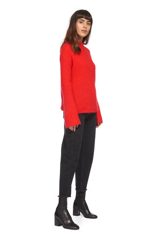 Mohair Knit, in Red on Whistles