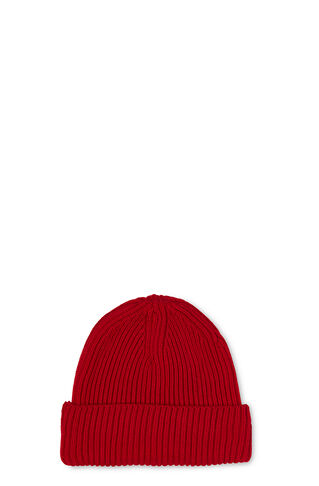 Merino Wool Beanie, in Red on Whistles