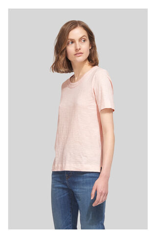 Rosa Double Trim Tee, in Pale Pink on Whistles