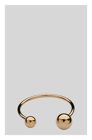 Double Orb Bracelet, in Gold on Whistles