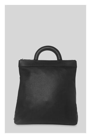 Miller Zip Top Rucksack, in Black on Whistles