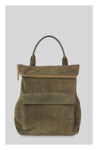 Verity Suede Backpack, in Khaki on Whistles
