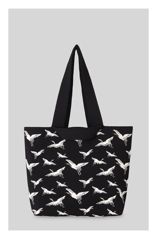 Crane Knitted Bag, in Black on Whistles