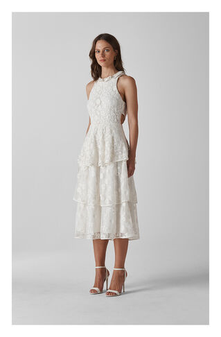 Guinevere Wedding Dress, in Ivory on Whistles