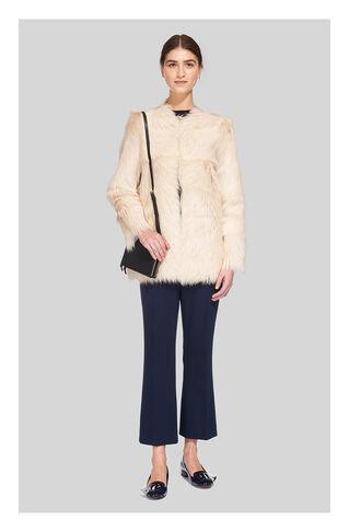 Brenna Sheepskin Jacket, in Cream on Whistles